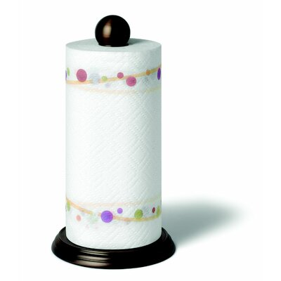 Spectrum Diversified Luna Paper Towel Holder in Bronze