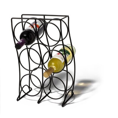 Spectrum Diversified Curve 6 Bottle Wine Rack