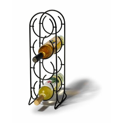 Spectrum Diversified Horseshoe 4 Bottle Tabletop Wine Rack