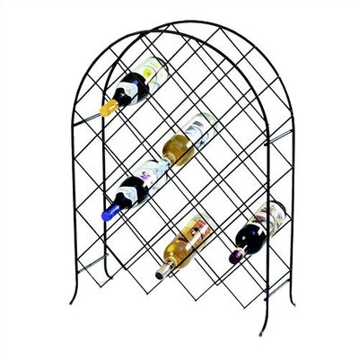 Spectrum Diversified Trellis 30 Bottle Wine Rack