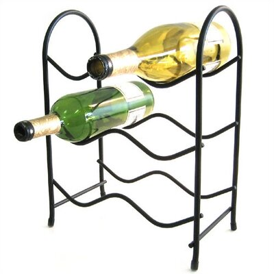 Metro 6 Bottle Tabletop Wine Rack