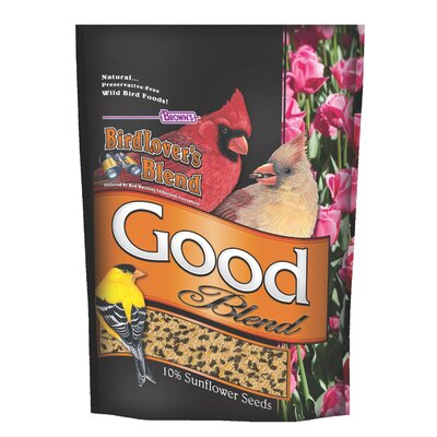 F.M. Browns Wildbird Birdlovers Blend Good Blend Wild Bird Seed Mix