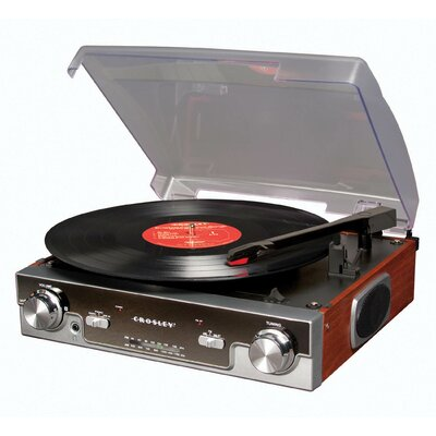 Crosley Tech Turntable in Mahogany