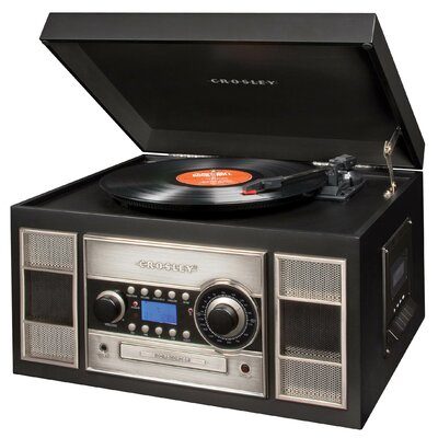 Crosley Memory Master II CD Recorder in Black