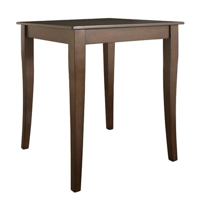 Crosley Cabriole Leg Pub Table in Vintage Mahogany