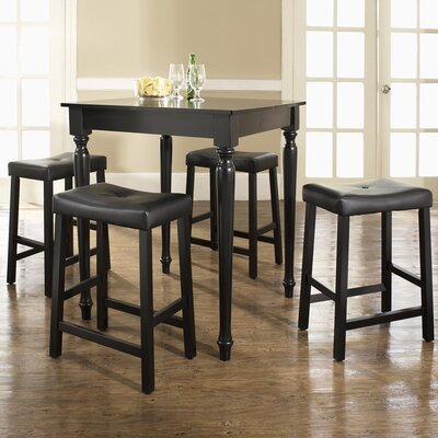 crosley 5 piece counter height pub set reviews wayfair