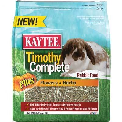 Kaytee Products Wild Bird Timothy Complete Rabbit Food