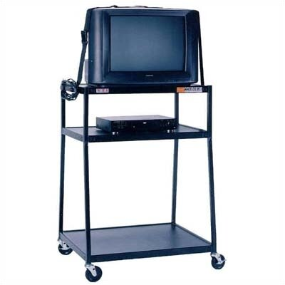 "VTI 48"" High, 2-Shelf Wide Body TV Cart"
