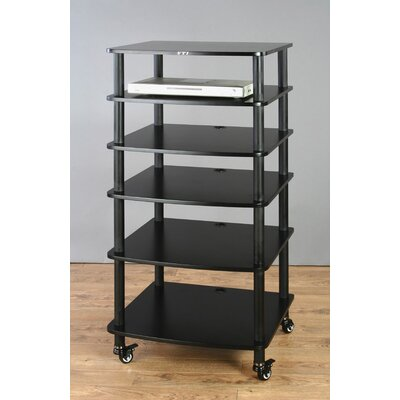 VTI AR Series 6-Shelf Modular Rack