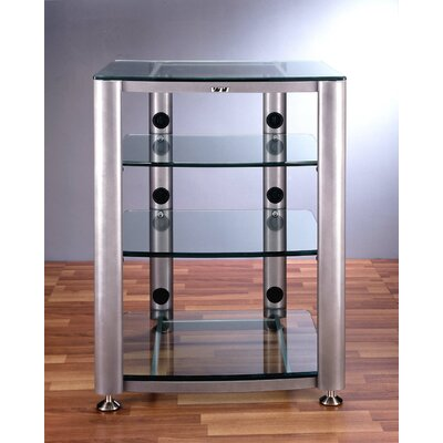 HGR Series 4-Shelf Audio Rack