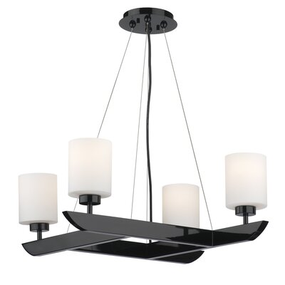 Philips Forecast Lighting Attitude 4 Light Chandelier