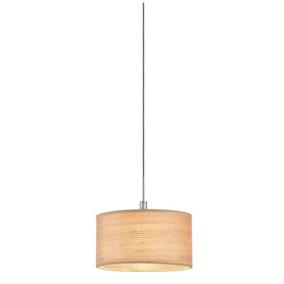 Philips Forecast Lighting White Grasscloth Pendant Shade