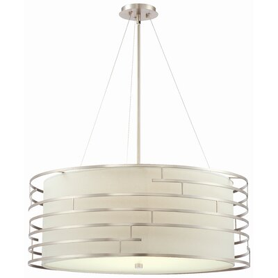 Philips Forecast Lighting Labyrinth 4 Light Drum Pendant
