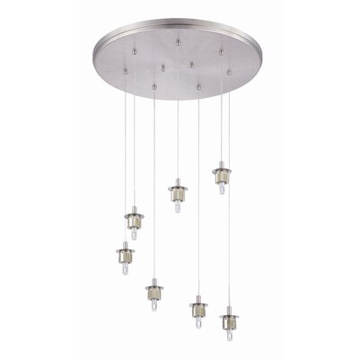 Sparkle 7 Light Pendant