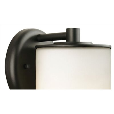 Philips Forecast Lighting Midnight Round Outdoor Wall Sconce in Black