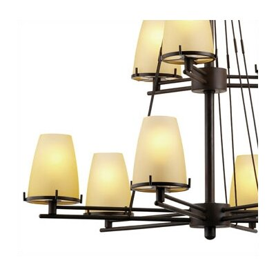 Philips Forecast Lighting Kellar's Forge 9 Light Chandelier