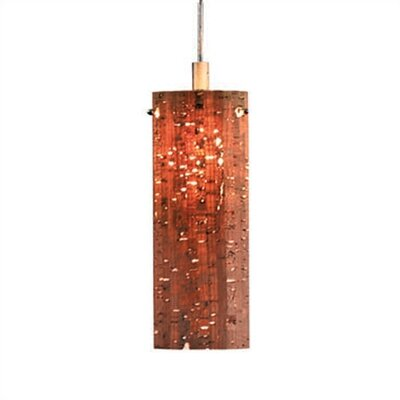 Philips Forecast Lighting Alentejo Organic Modern Mini Pendant Shade in Cork