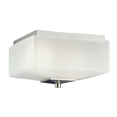Radius Glass Flush Mount