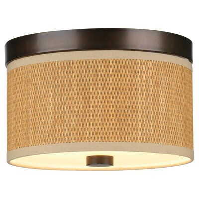 Philips Forecast Lighting Organic Modern Cassandra Flush Mount