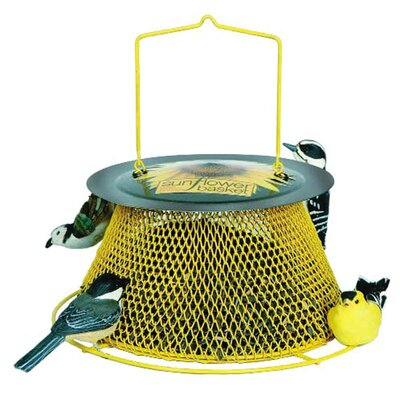 Sweet Corn Products Llc No / No Sunflower Basket Feeder in Yellow