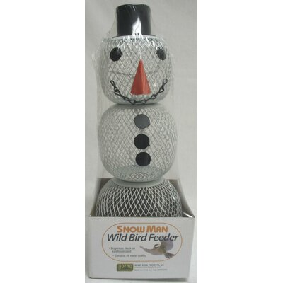 Sweet Corn Products Llc No / No Snowman Feeder in White
