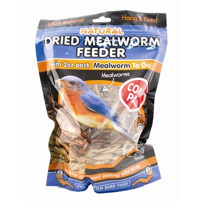 Unipet Usa Dried Mealworm Reed Wild Bird Feeder