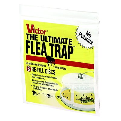 Woodstream Lawn & Garden Victor The Ultimate Flea Trap Refill (Set of 3)