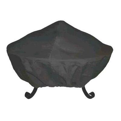 "Corral 40"" Tall Screen Vinyl Fire Pit Cover"
