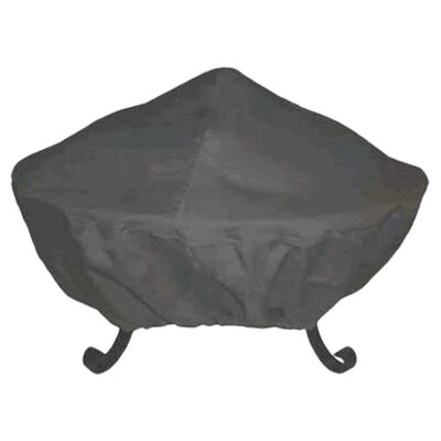 "30"" Tall Screen Vinyl Fire Pit Cover"