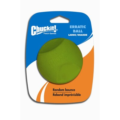 Chuck-It Large Erratic Ball Dog Toy (1 pack)