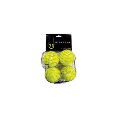 Hyper Products Mini Replacement Tennis Balls for Hyper Dog Toys (4 Pack)