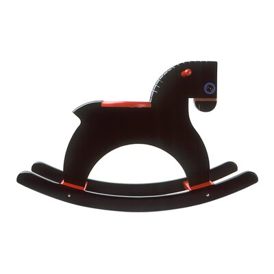 Playsam Rocking Horse in Black