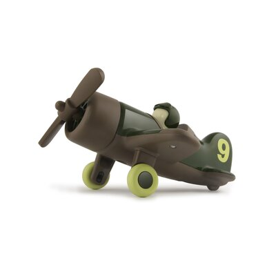 Playforever Mimmo Aeroplane in Forest Green