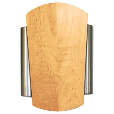Heath-Zenith Wired Door Chime with Solid Maple Natural Cover