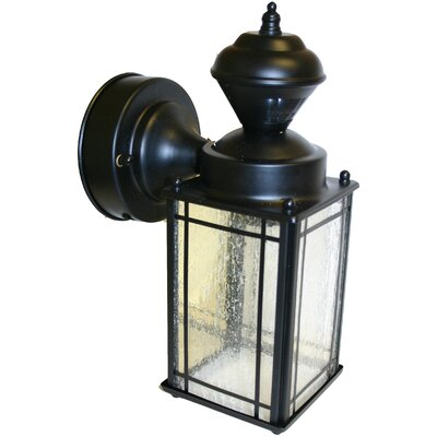 heath zenith shaker cove mission style motion activated security light. Black Bedroom Furniture Sets. Home Design Ideas