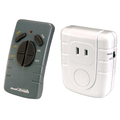 Heath-Zenith Wireless Command Remote Control Lamp Set