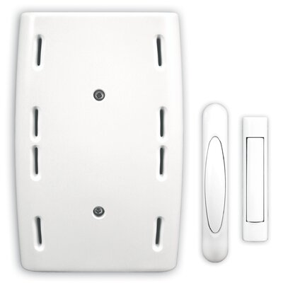 Wired Door Chime with Two Wireless Push Buttons