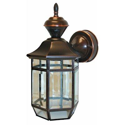 Heath-Zenith Lexington 1 Light Outdoor Wall Lighting & Reviews Wayfair