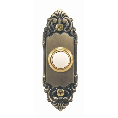 Heath-Zenith Wired Door Chime Push Button