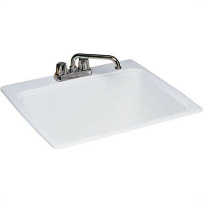 "Swanstone Veritek 17"" x 20"" Drop-In Laundry Sink"