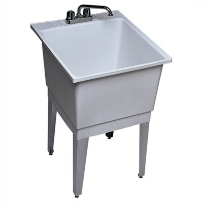Swanstone Polypropylene Single Bowl Laundry Sink