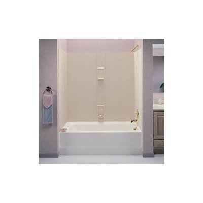 Swanstone Classics Five Panel Bath Tub Wall System