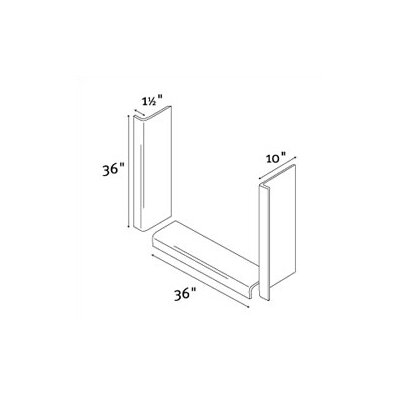 Swanstone Window Trim Kit