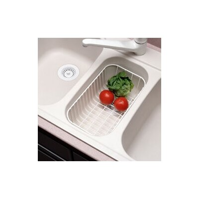 Swanstone Wire Basket for KSLB-3322 Kitchen Sink in White