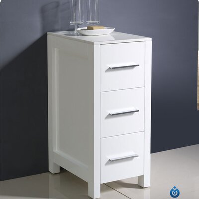 "Fresca Torino 12"" x 31.1"" Bathroom Linen Side Cabinet"
