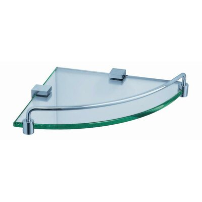 Fresca Corner Glass Shelf