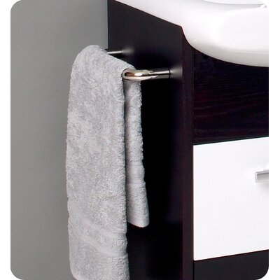 "Fresca Nero 26"" Distinto Modern Bathroom Vanity Set"