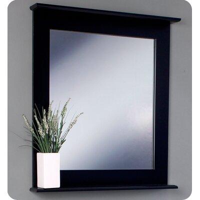 "Fresca Classico 31.5"" Emotivo Modern Bathroom Vanity Set with Mirror"