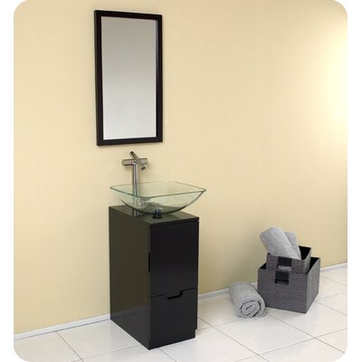 Fresca Brilliante Modern Bathroom Vanity with Mirror