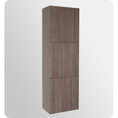 Fresca Bathroom Linen Cabinet with 3 Large Storage Areas